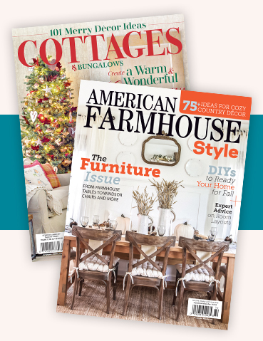 Cottages & Bungalows and American Farmhouse Style Print Subscription Combo