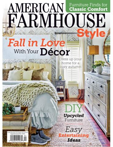 American Farmhouse Style Oct/Nov 2019
