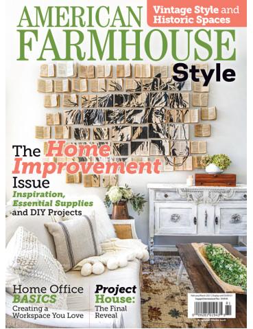 American Farmhouse Style Feb/Mar 2021