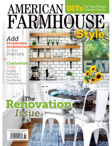 American Farmhouse Style Feb/Mar 2019