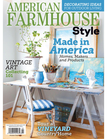 American Farmhouse Style Aug/Sep 2020