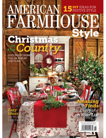 American Farmhouse Style Winter 2018