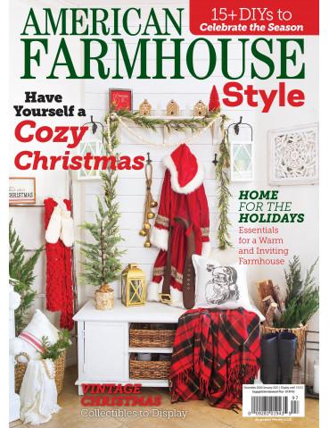 American Farmhouse Style Dec/Jan 2021