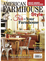AMERICAN FARMHOUSE STYLE FALL 2017
