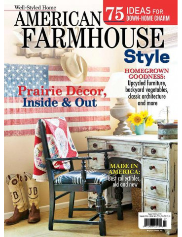 AMERICAN FARMHOUSE STYLE SUMMER 2016