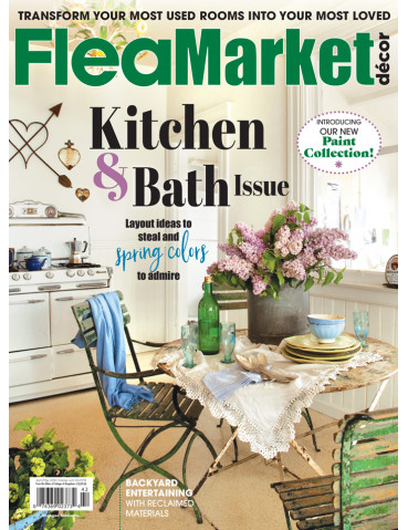 Flea Market Décor and Cottages & Bungalows  Print Subscription combo