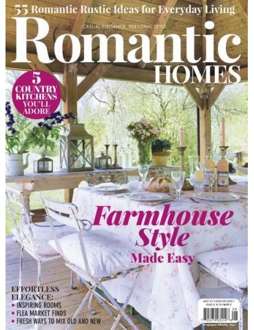 ROMANTIC HOMES AUGUST 2017