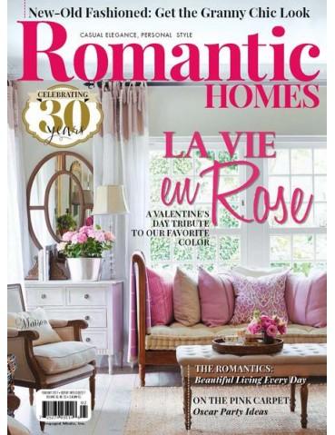 ROMANTIC HOMES FEBRUARY 2017