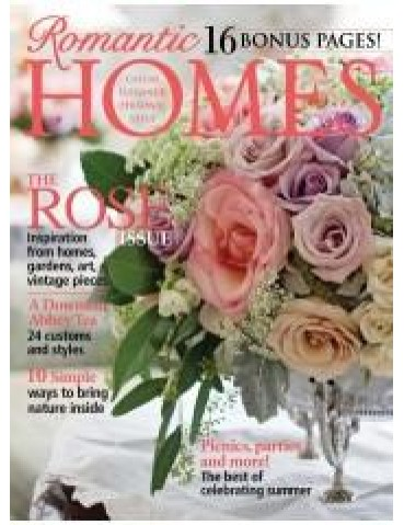 ROMANTIC HOMES JUNE 2013