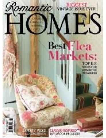 ROMANTIC HOMES AUGUST 2014