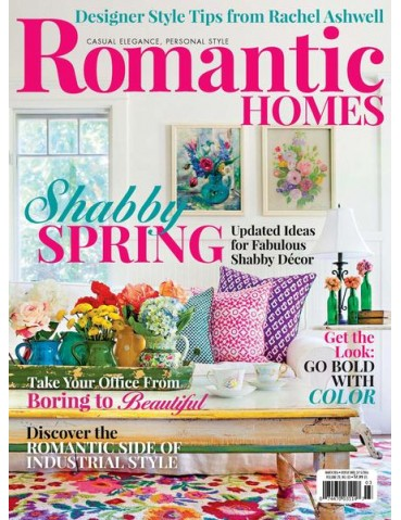 ROMANTIC HOMES MARCH 2016