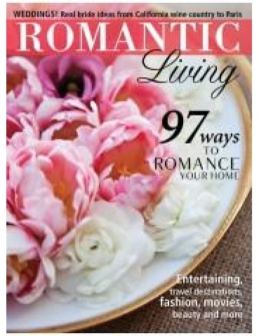 ROMANTIC HOMES: ROMANTIC LIVING SPRING 2012