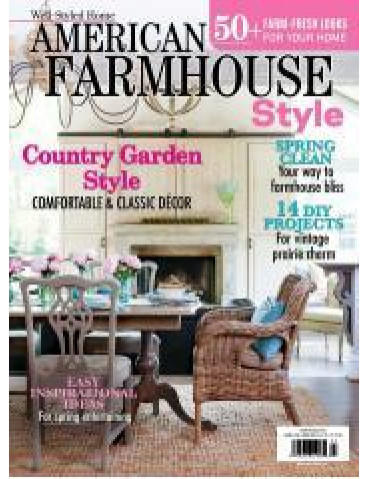 American Farmhouse Style Spring 2016