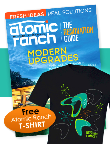 Atomic Ranch Subscription Offer (with Free T-Shirt)