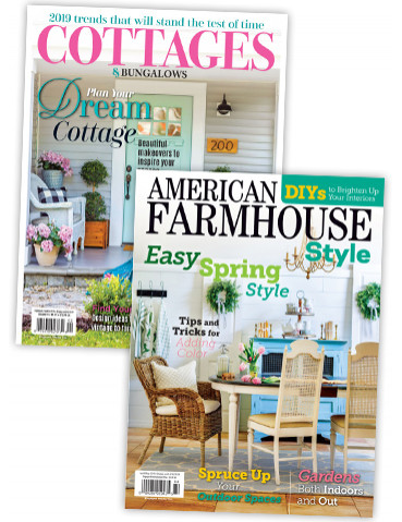 Cottage & Bunglow and American farm house Print Subscription combo