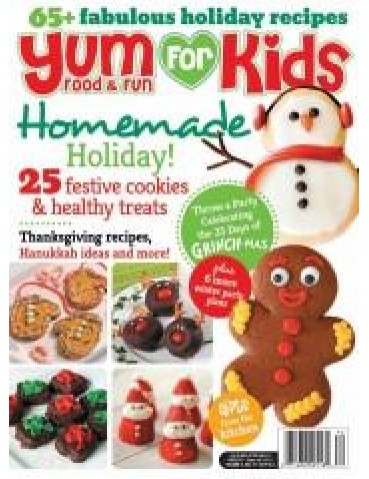 YUM FOR KIDS FOOD & FUN OCT 2013 (WINTER)