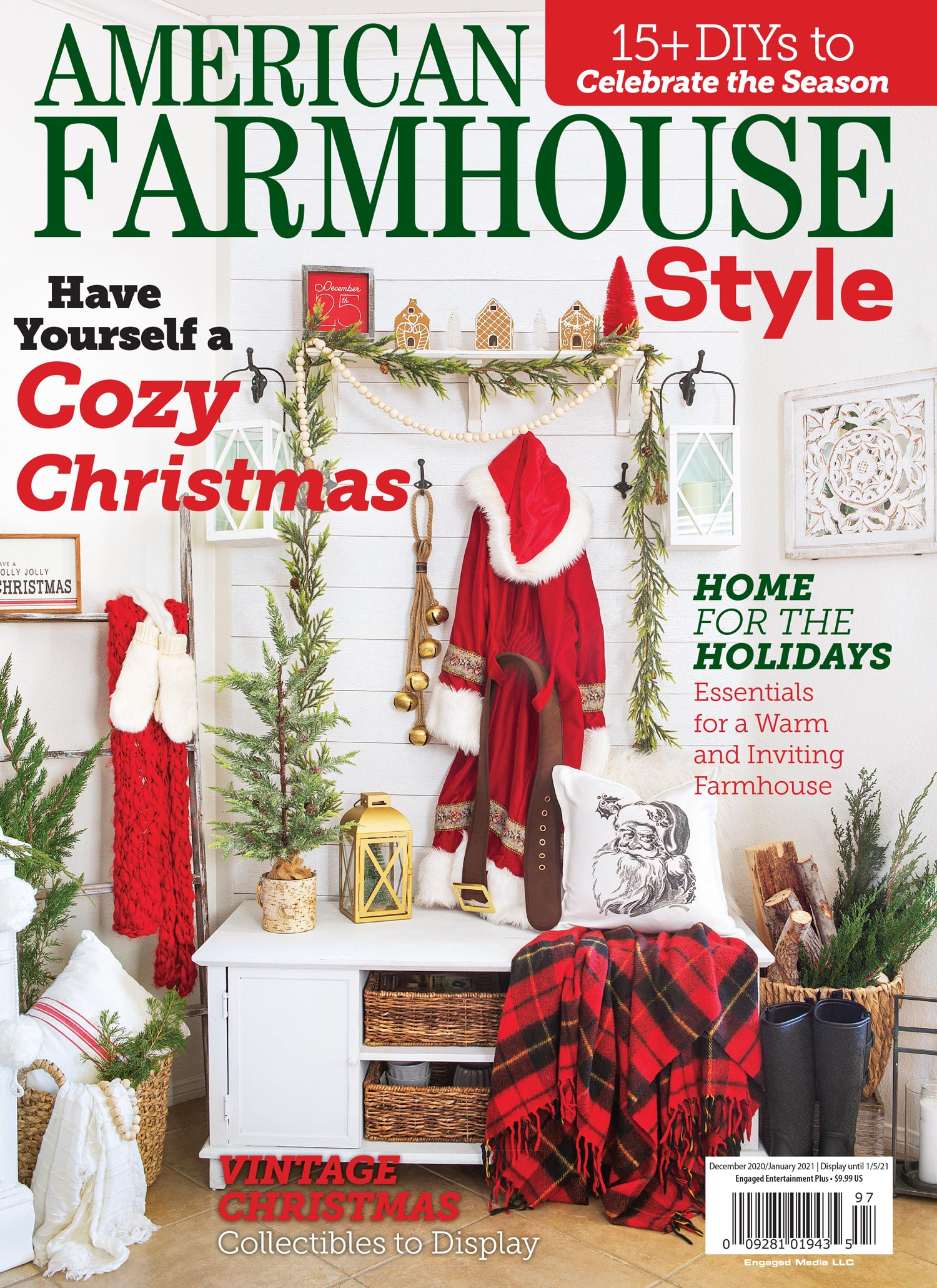 American Farmhouse Style Dec/Jan 2021